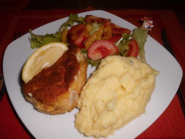 Gorgonzola-Schnitzel>> - Rezept