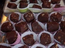 Pralinen: Chocolate-Fudge...sehr süß - Rezept