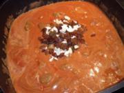 Indisches Lammcurry mit Nüssen und Rosinen - Rezept