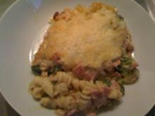 Nudel -Schinken - Broccoli- Auflauf - Rezept