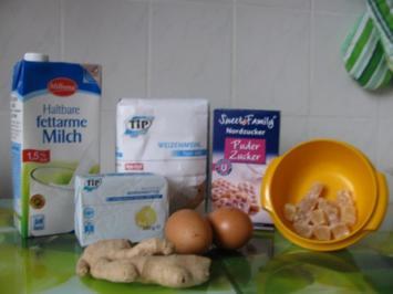 Mealie Bread Ingwer Pudding - Rezept
