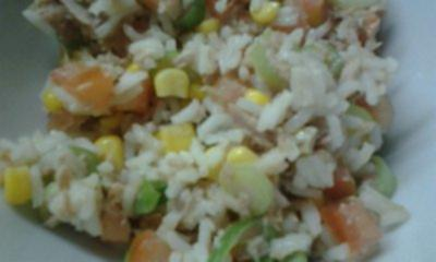 Reissalat mit Thunfisch - Rezept
