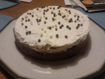 Schoko-Mango-Pfannkuchentorte - Rezept