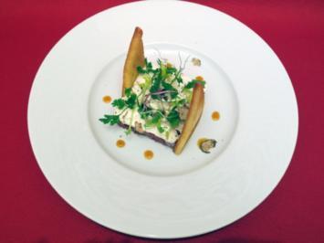 Tatar vom Rind mit Tramezzinibrot - Rezept