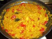 Indisches Dhal-Curry mit gelben Linsen - Rezept