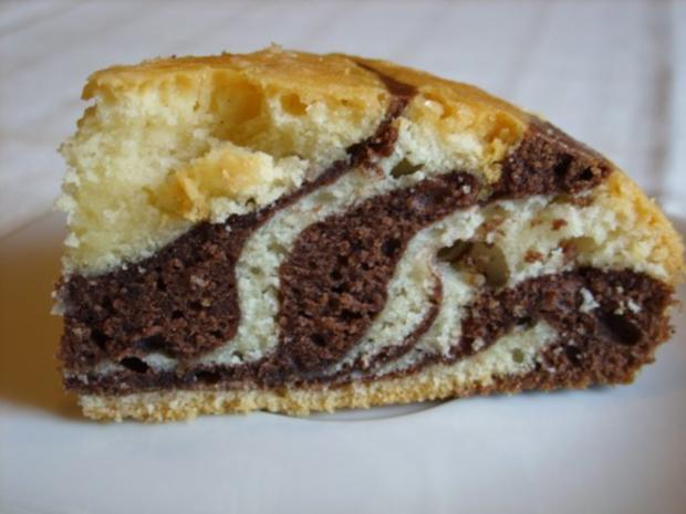Kleine Formen Zebrakuchen Mit Orangenguss Rezept Kochbar De