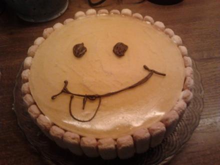 Smiley-Kuchen - Rezept