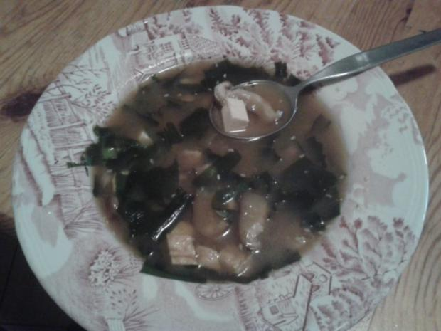 Miso Suppe - Rezept