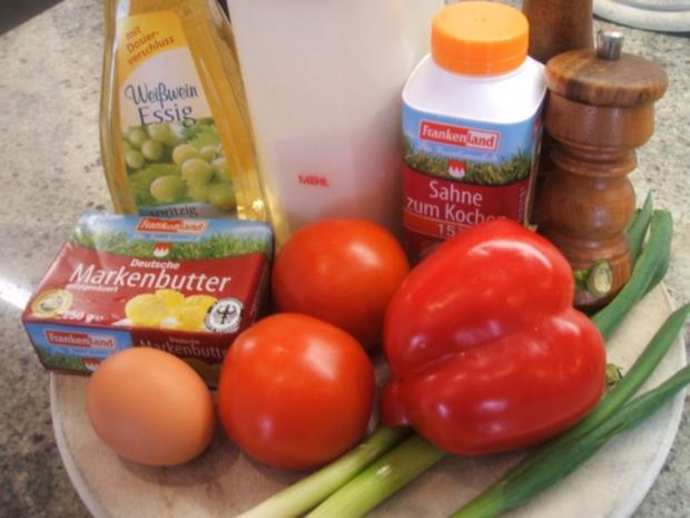 Quiche: Quiche mit Tomaten und Paprika - Rezept - Bild Nr. 2