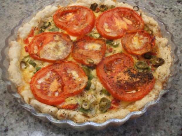 Quiche: Quiche mit Tomaten und Paprika - Rezept - Bild Nr. 10