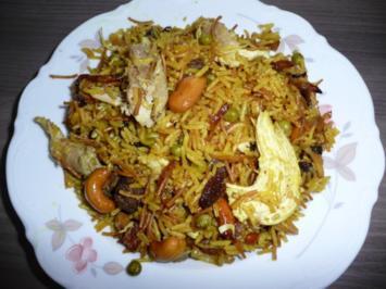 Syrische -Reispfanne - Rezept