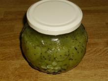 1 Glas Kiwi Marmelade - Rezept