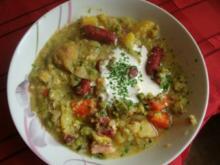 Gemüse-Kartoffel-Suppe - Rezept