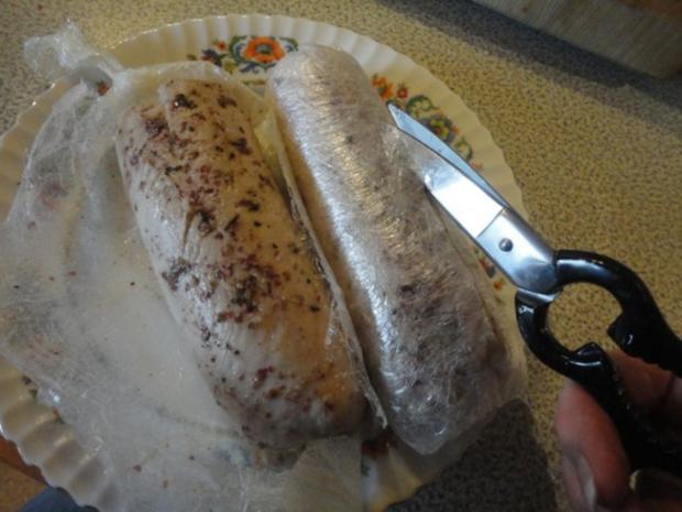 flambiertes Puten Filet mit Dörrpflaumen Sauce und Mandel Reis - Rezept - Bild Nr. 10