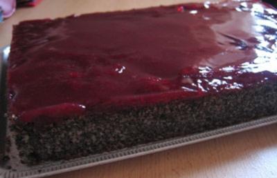 18 Mohnkuchen Mit Kirschen Und Mohnback Rezepte Kochbar De