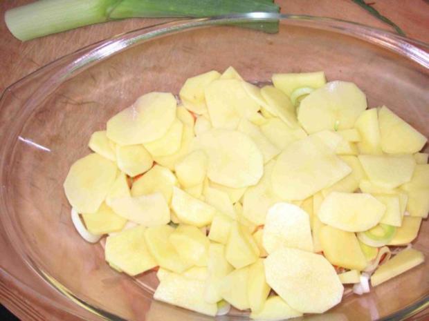 Vegan Kartoffel Pilz Auflauf Rezept Kochbarde
