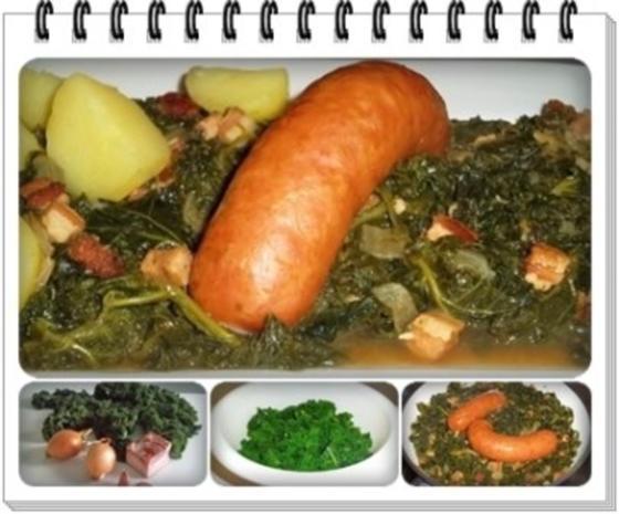 Frischer Grünkohl mit Wurst und Kartoffeln - Rezept - Bild Nr. 19