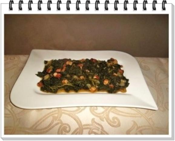Frischer Grünkohl mit Wurst und Kartoffeln - Rezept - Bild Nr. 16