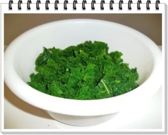Frischer Grünkohl mit Wurst und Kartoffeln - Rezept - Bild Nr. 7