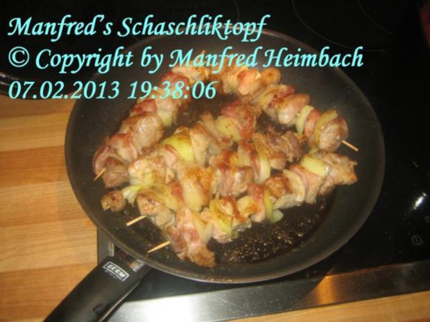 Fleisch – Manfred's Schaschliktopf - Rezept - Bild Nr. 2