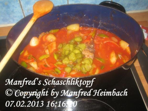 Fleisch – Manfred's Schaschliktopf - Rezept - Bild Nr. 3