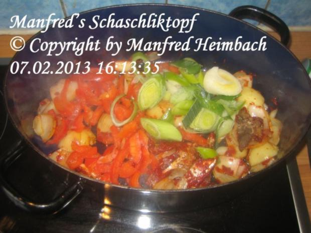Fleisch – Manfred's Schaschliktopf - Rezept - Bild Nr. 5