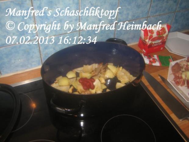 Fleisch – Manfred's Schaschliktopf - Rezept - Bild Nr. 6