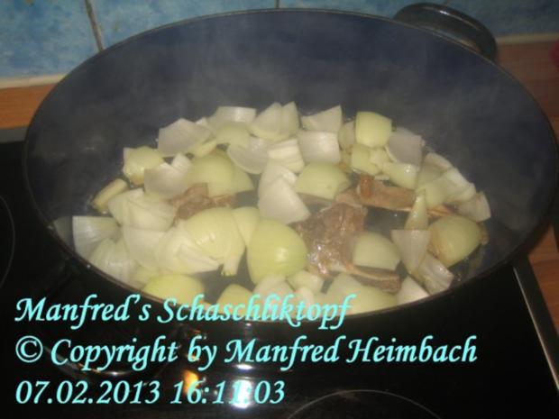 Fleisch – Manfred's Schaschliktopf - Rezept - Bild Nr. 7