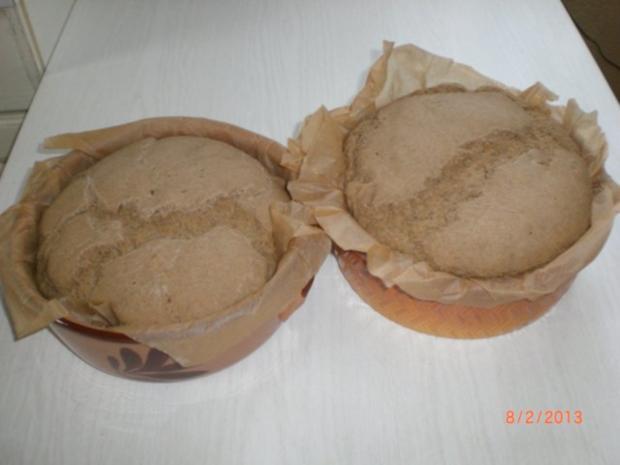 Roggen-Dinkelbrot mit Sauerteig (selbst hergestellt) - Rezept - Bild Nr. 7