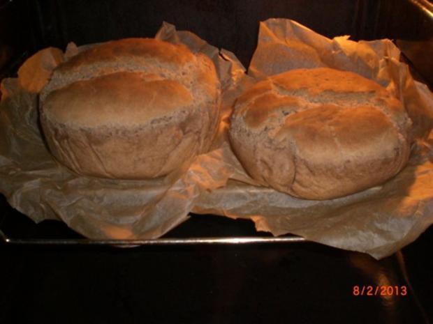 Roggen-Dinkelbrot mit Sauerteig (selbst hergestellt) - Rezept - Bild Nr. 8