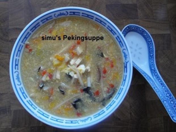 Pekingsuppe - Rezept - Bild Nr. 8