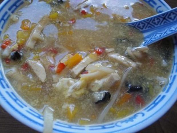 Pekingsuppe - Rezept - Bild Nr. 7