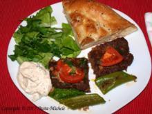 Adana Kebab aus dem Backofen         (nach dem Rezept meiner lieben Kollegin Yasemin) - Rezept