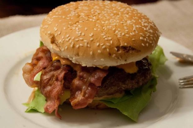 Bacon Cheese Burger - Rezept - Bild Nr. 2