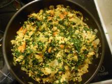 Spinat-Tofu-Pfanne (vegan) - Rezept