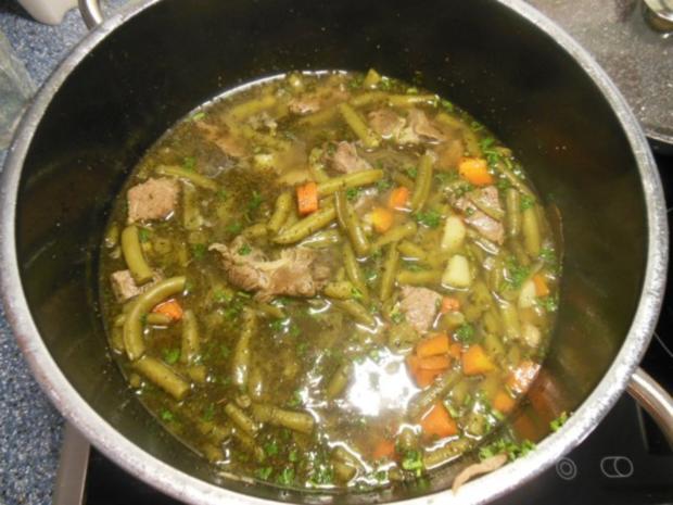 Suppe: Bohneneintopf - Rezept - Bild Nr. 2