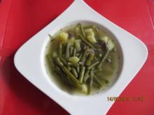 Suppe: Bohneneintopf - Rezept