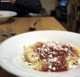 """Spaghetti """"Bloody tomato"""" - Rezept"""