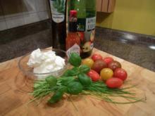 Marion's Eingelegte Tomaten mit Käsekugeln - Rezept