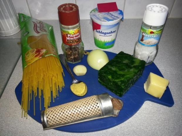 "Spaghetti ""grün""... - Rezept - Bild Nr. 2"