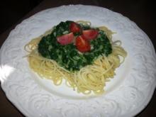"""Spaghetti """"grün""""... - Rezept"""