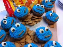 Krümelmonster-Muffins ohne Kokos - Rezept