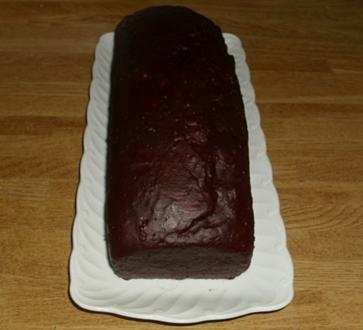 glasierter Kakaokuchen - Rezept