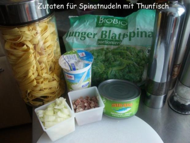 Spinat -Thunfisch -Soße - Rezept - Bild Nr. 2