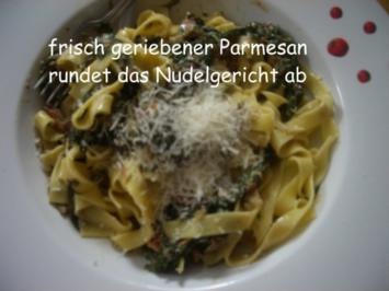 Rezept: Spinat -Thunfisch -Soße