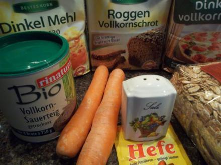 Marion's Dinkel-Karotten-Brot - Rezept