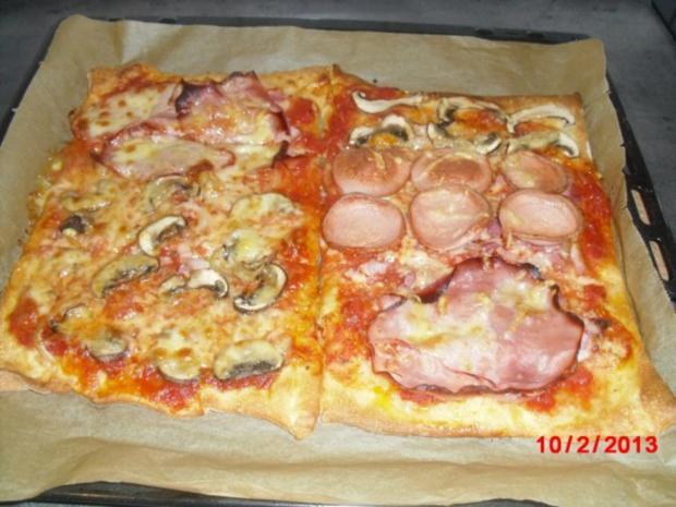 Pizza XXL, der Kühlschrank muß leer werden. - Rezept - Bild Nr. 5