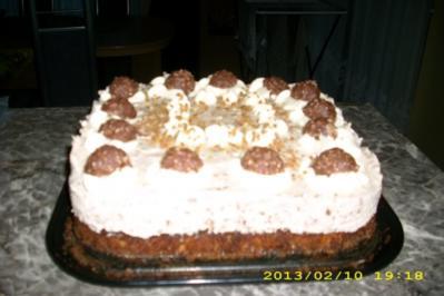 Rocher- Torte - Rezept