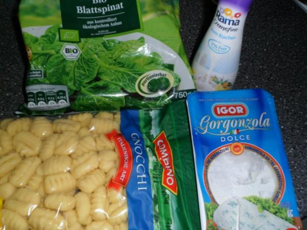 Gnocchi - Spinat - Auflauf - Rezept - Bild Nr. 2