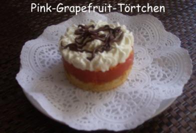 Pink - Grapefruit - Törtchen - Rezept